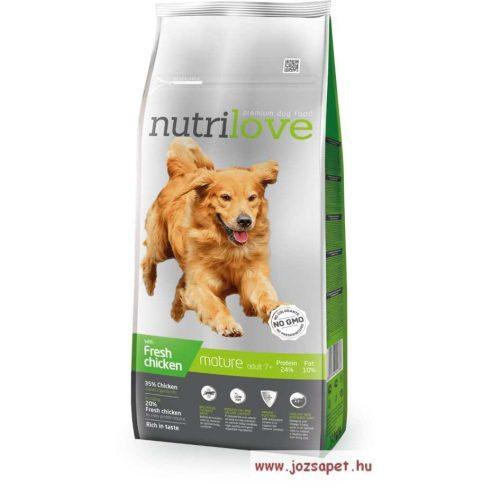 Nutrilove Senior kutyatáp 12kg