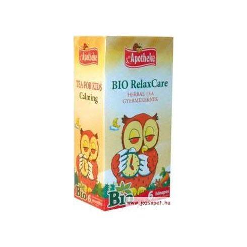 Apotheke - Bio RelaxCare Herbal Tea Gyermekeknek, 20 filter