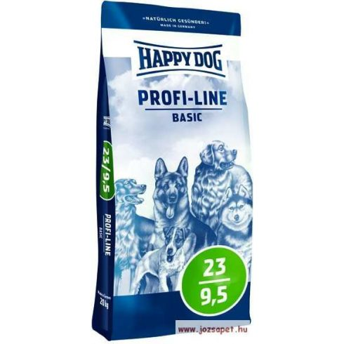 Happy Dog Profi-Line Basic 23 - 9,5 kutyatáp 20kg
