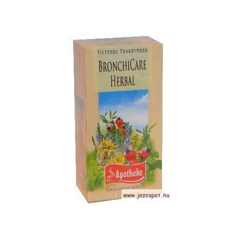 Apotheke - BronchiCare Herbal Tea, 20 filter