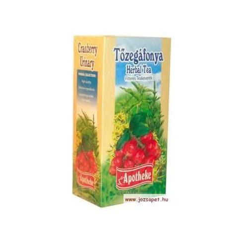 Apotheke - Tőzegáfonya Tea, 20 filter