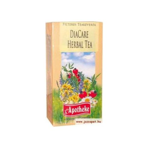 Apotheke - DiaCare Herbal Tea, 20 filter