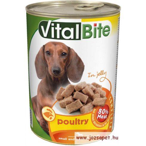 Vitalbite kutyakonzerv csirkével 12*415g