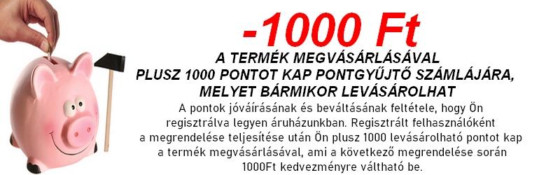 1000 Ft kedvezmény