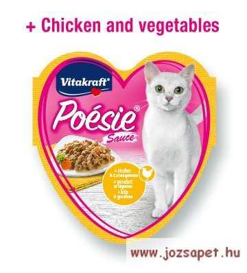 Vitakraft Poésie finom falatok alutasakban macskáknak 3x85g