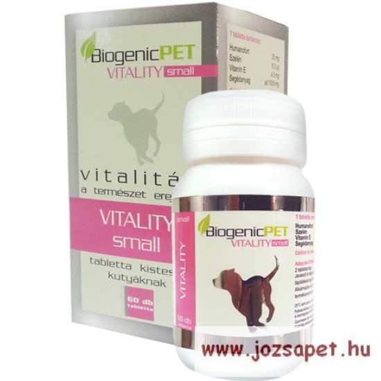 BiogenicPet Vitality Dog Small 60db