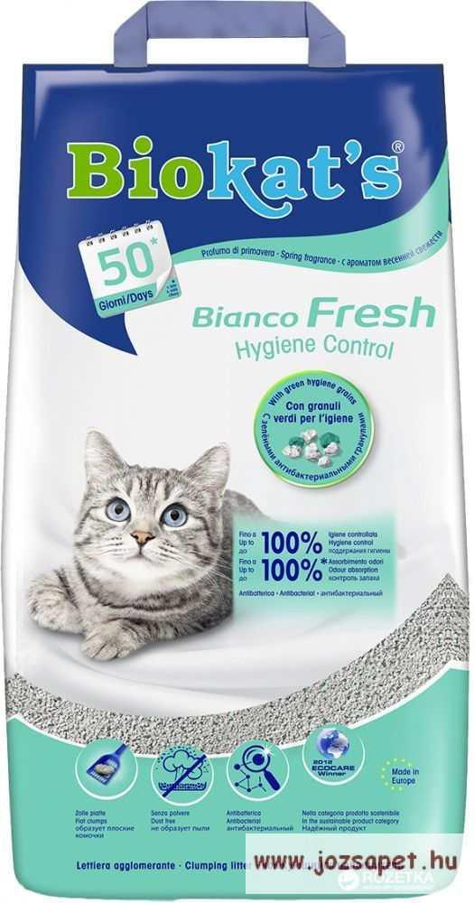 Biokats Fresh Bianco macskaalom 5kg