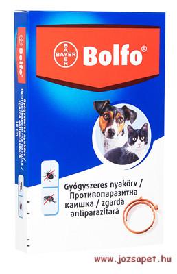 Bolfo bolha, kullancs elleni nyakörv 38cm macskáknak, kistestű kutyáknak
