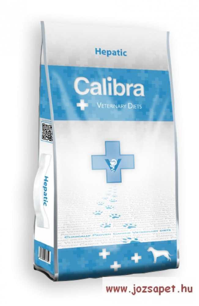 CALIBRA VET Hepatic - diétás kutyatáp, gyógytáp 2kg