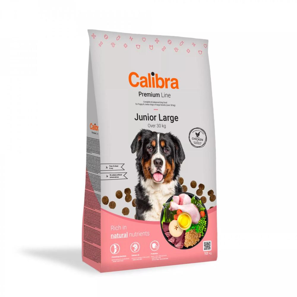 Calibra Premium Junior Large Chicken 3kg kutyatáp nagytestű kutyának