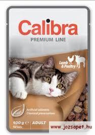 Calibra Cat Adult Lamb & Poultry 100g alutasakos macskaeledel báránnyal