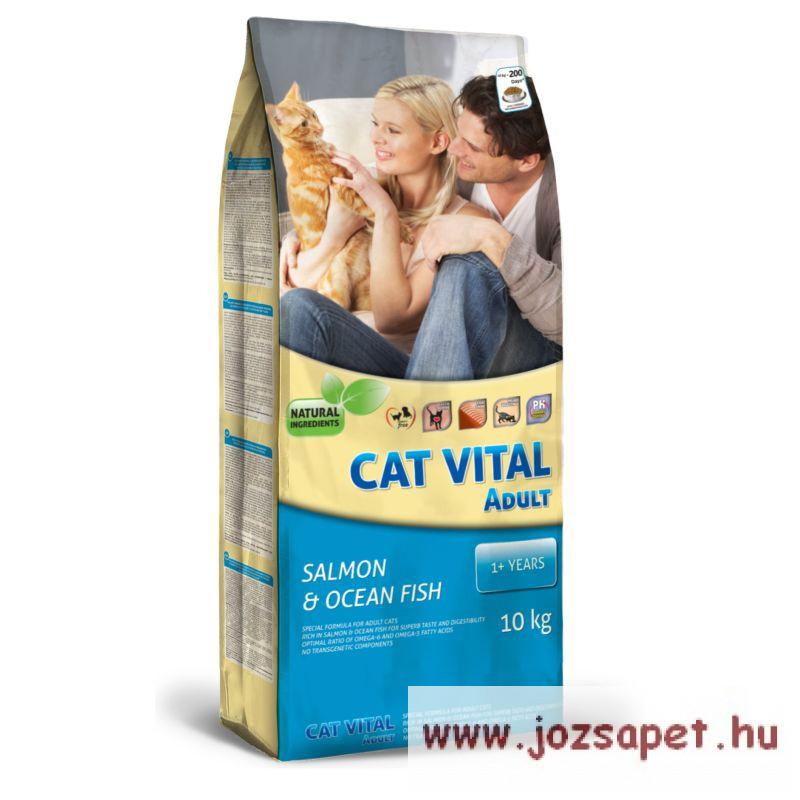 Cat Vital Salmon & Ocean Fish 10kg