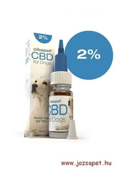 Cibapet CBD olaj kutyáknak 2%-os 10ml