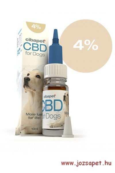 Cibapet CBD olaj kutyáknak 4%-os 10ml