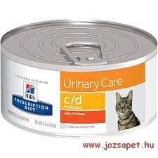 Hill's Prescription Diet Feline c/d minced chicken konzerv 156g
