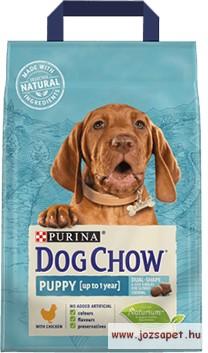 Dog Chow Puppy Csirke kölyökkutya táp 14kg