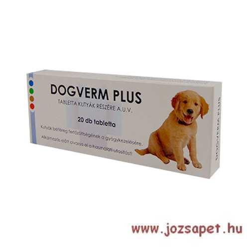 Dogverm plus féreghajtó tabletta 20db