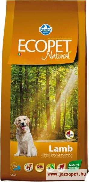 Ecopet Natural Adult Lamb 14kg