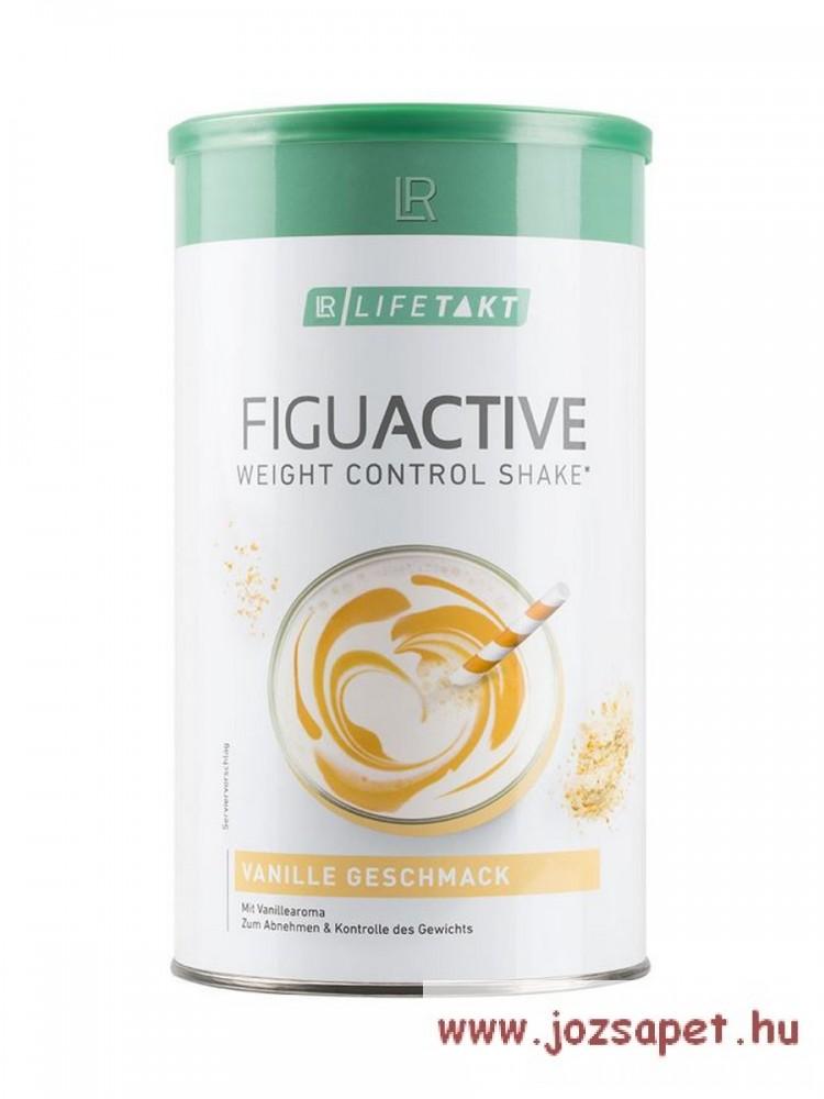 LR Figu Active Vanília Shake italpor 450g*3doboz, fogyókúrához, súlymegtartáshoz