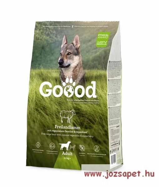 Goood Adult Free Range Lamb holisztikus szuperprémium kutyatáp báránnyal 1,8kg