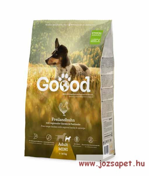 Goood Adult Mini Free Range Chicken Holisztikus kutyatáp 1,8kg