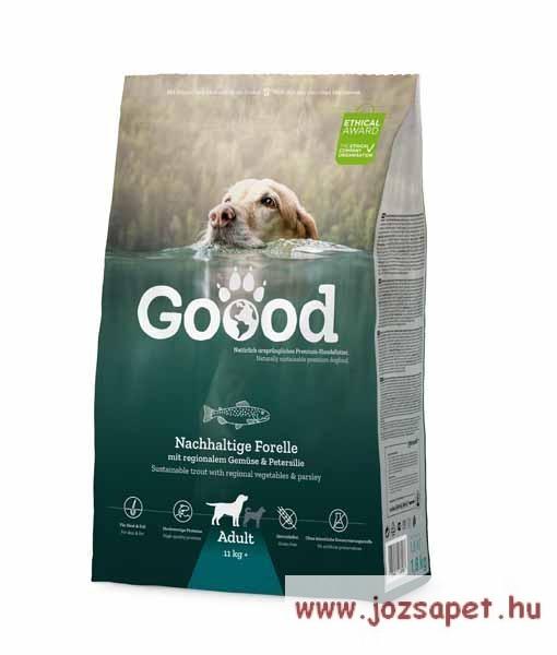 Goood Adult Sustainable Trout holisztikus szuperprémium kutyatáp pisztránggal 10kg