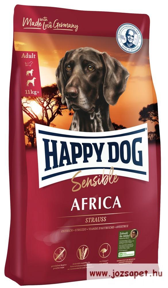 Happy Dog Supreme Sensible Africa kutyatáp 12,5 kg