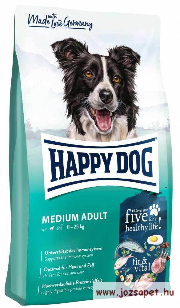 Happy Dog Supreme Fit & Well Adult Medium 4 kg