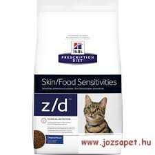 Hills Prescription Diet Feline z/d hipoallergén macskatáp 4 kg