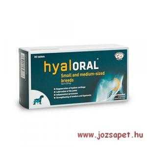 Hyaloral Small & Medium tabletta, Opko 90db