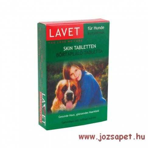 Lavet Bőrtápláló tabletta kutya 50db
