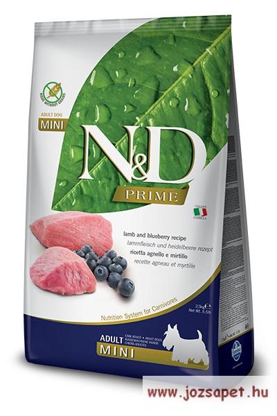 N&D Dog Prime Grain Free Vaddisznó és Alma Adult Mini 800g