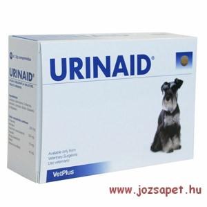 Urinaid tabletta 60db, kutyák alsó húgyúti megbetegedésének kezelésére